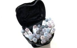 tekenmaterialen 30 stuks grijs markers