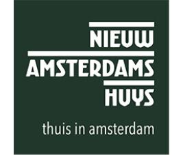 Logo Nieuw amsterdams huys thuis in amsterdam