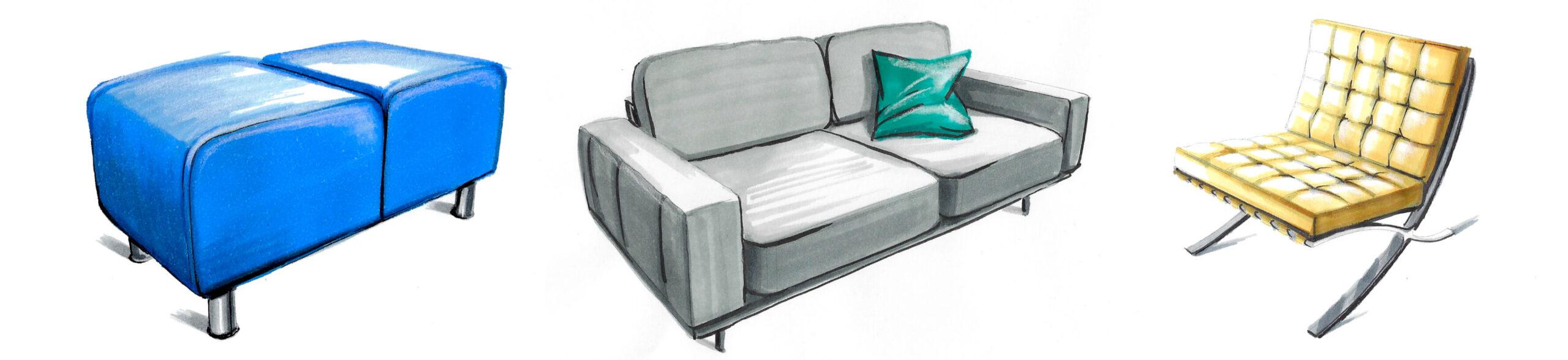 Interior Sketch Online Academie Interieur Tekenen Plattegrond Tekenen